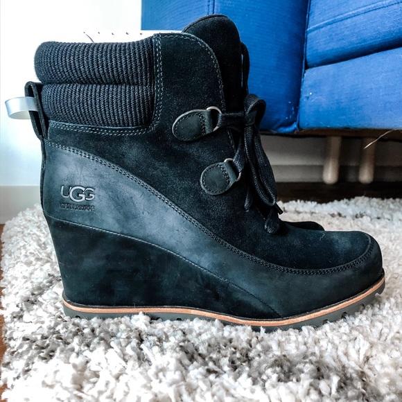 Ugg Kriston Waterproof Bootie In Black